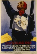 Poster for 1936 Olympic Games
