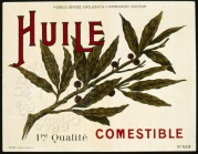 Olive Oil Label, No. 553