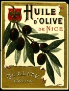 Olive Oil Label, No. 441