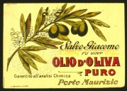 Spanish Olive Oil Label