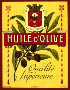 Olive Oil Label, Paris