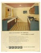 Advert for Ceramic tiles by The Glazed & Floor Tile Manufacturers Association