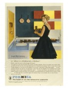 Advert for Formica laminates