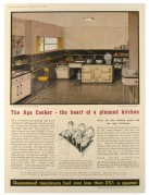 Advert for Aga Cookers