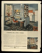 USA advert for Armstrong Linoleum Floors