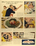 Advert for Birds Eye frosted foods
