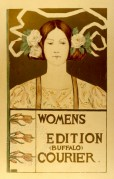 Poster for the Womens Edition of the Buffalo Courier