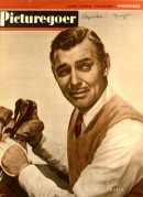 Picturegoer with Clark Gable