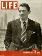 Life Magazine with Gregory Peck