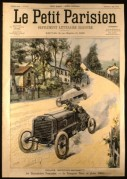 Cover of Le Petit Parisien Journal
