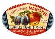 Label for Prune & Apple Jam