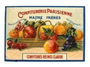 Label for Jam by Reines Claude