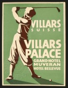 Advert for Villars Palace Grand Hotel
