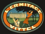 Label for L'Ermitage Vittel