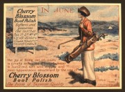 Advert for Cherry Blossom shoe polish