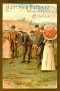 A Golf Scene on a Huntley & Palmers Biscuit Tin