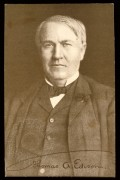USA portrait of Thomas Edison