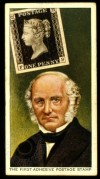 Sir Rowland Hill with the Penny Black