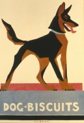 Poster for dog biscuits