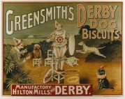 Greensmith's Derby Dog Biscuits packaging