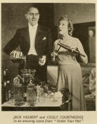 "Jack Hulbert & Cicely Courtneidge in ""Under your hat'"