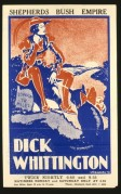 Poster for Dick Whittington at the Shepherds Bush Empire