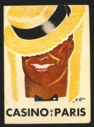 Programme cover for the Casino de Paris