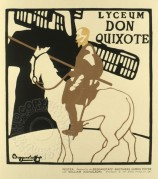 Poster for Don Quixote at the Lyceum