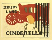 Poster for Cinderella at Drury Lane Theatre