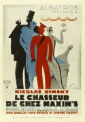 "Poster for 'Le Chaqsseur de Chez Maxims"" by Alabatross films"