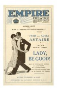 Poster for Fred and Adele Astaire in 'Lady be Good!'