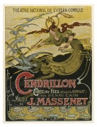 Poster for 'Cendrillon' at Theatre National