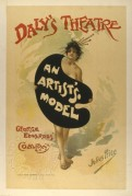 Poster for 'An Artist's Model' at Daly's Theatre