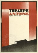 Poster for Theatre Antoine