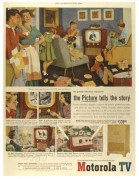 USA advert for Motorola TV
