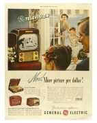 Advert for the General Electric Television