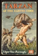 Book cover for Tarzan, At The Earths Core