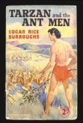 Book cover for Tarzan and the Ant Men