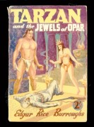 Book cover for Tarzan and the Jewels of Opar