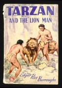 Book cover for Tarzan and the Lion Man