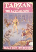 Book cover for Tarzan and the Lost Empire