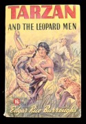Book cover for Tarzan and the Leopard Men