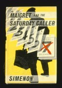 Book cover for Maigret and the Saturday Caller