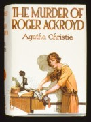 Book cover for The Murder of Roger Ackroyd