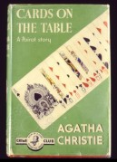 Book cover for Cards on the Table, a Poirot Novel