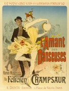 Poster for L'Amant des Danseuses, a Romantic Novel