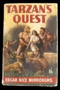 Book cover for Tarzan's Quest