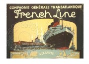 Advert for French Line Cruises
