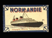 Advert for Normandie Cruises by CGT