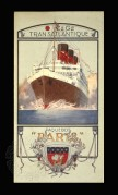 Advert for SS Paris transatlantic ocean liner